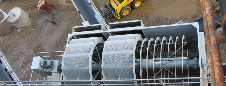 Lavaggio e recupero sabbie chiodini impianti for Idrociclone per sabbia usato
